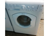 a175 white hotpoint 7kg 1400spin washer dryer comes with warranty can be delivered or collected