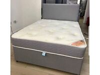 LUXURY DIVAN BED SETS HALF PRICE AND FREE UK DELIVERY