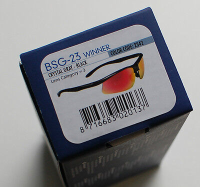 BBB Sonnenbrille Winner BSG-23 crystal-grey - black Code 2342