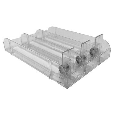 Retail Cigarette Pack Spring Loaded Push Tray Set 3 Rows Pusher Free Shipping