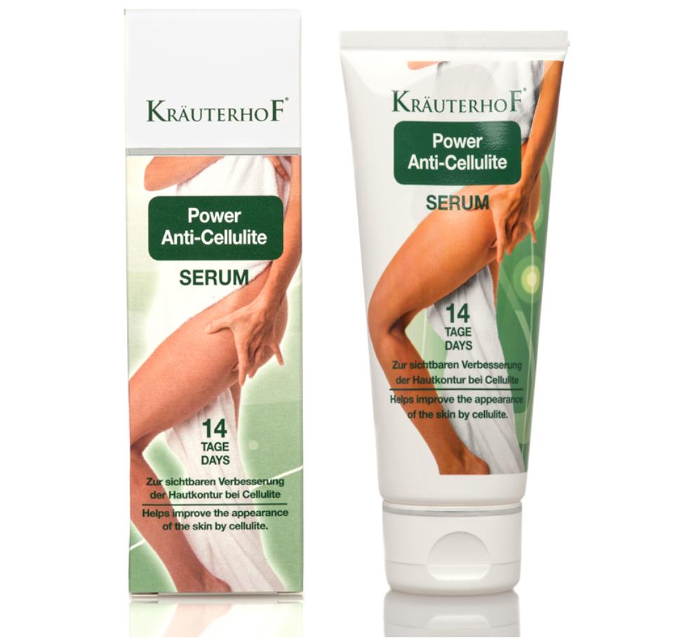 Anti Cellulite Serum 14 Tage Zellulitis Creme Körpercreme Kräuterhof LIPOREDUX
