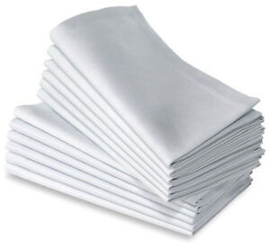 72-COTTON-RESTAURANT-DINNER-CLOTH-LINEN-NAPKINS-WHITE-20X20-WEDDING-GRADE