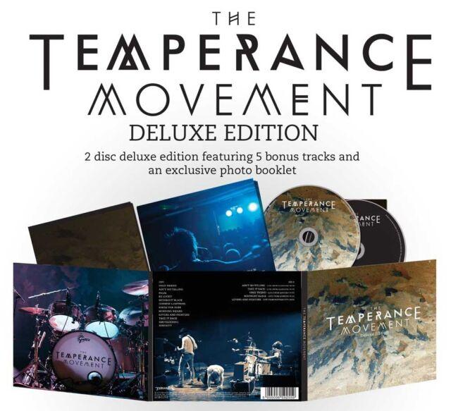 The Temperance Movement the temperance movement Deluxe 2CD Digisleeve - NEW