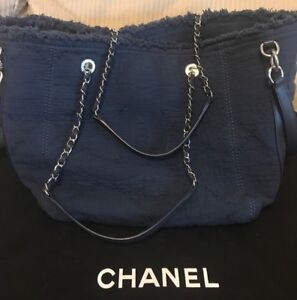 Chanel Large Shopping Bag Authentic