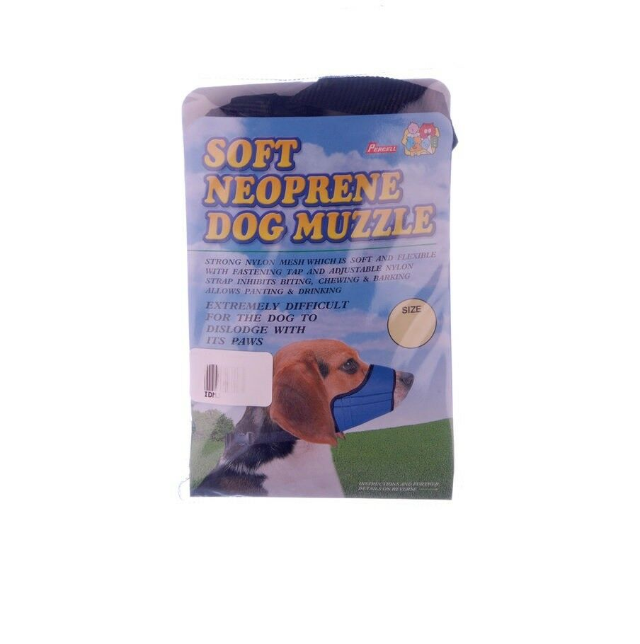 muzzle for short nose breed dog adjustable