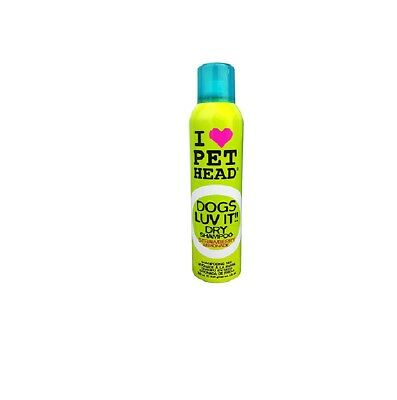PETHEAD Luv It Dry Shampoo for Dog - No Water Fuss Made in the USA