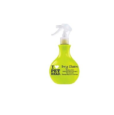 PETHEAD Dry Clean Spray Shampoo for Dog - 15.2 oz Waterless