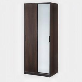 IKEA Wardrobe Black - Brown Dissembled