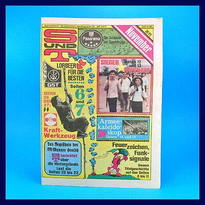 S und T 11/1979 | Volksmarine China | DDR-Zeitschrift GST NVA Sport und Technik