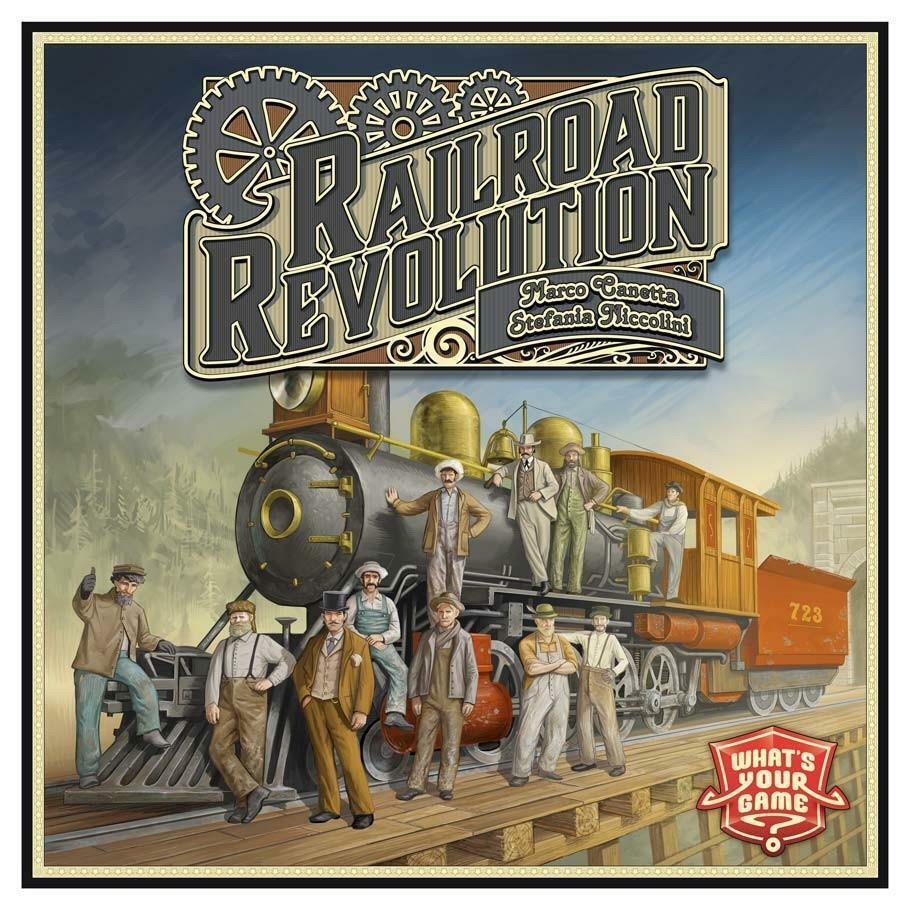Railroad Rivals Board Game Multiplayer Strategy Tycoon Forbidden Games FRB1200