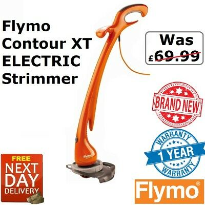 New Flymo Contour XT Strimmer / Electric Grass Trimmer / Lawn Edger
