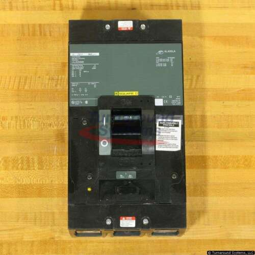 Square D Lal26250mb Circuit Breakers, 250 Amp, New!