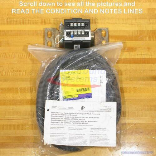 Square D S33576 400-1600 Amp Neutral Current Transformer, NEW