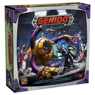 Gekido Bot Battles Gekido: Game Board Game CMON     Shrink Wrap / Free Ship