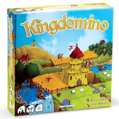 Kingdomino Board Game Family Fun Strategy Interactive Blue Orange Games BLG03600