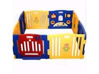 Baby playpen 8 plastic panels