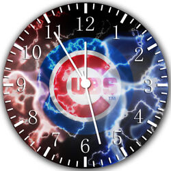 Chicago Cubs Frameless Borderless Wall Clock Nice For Gifts or Decor W340
