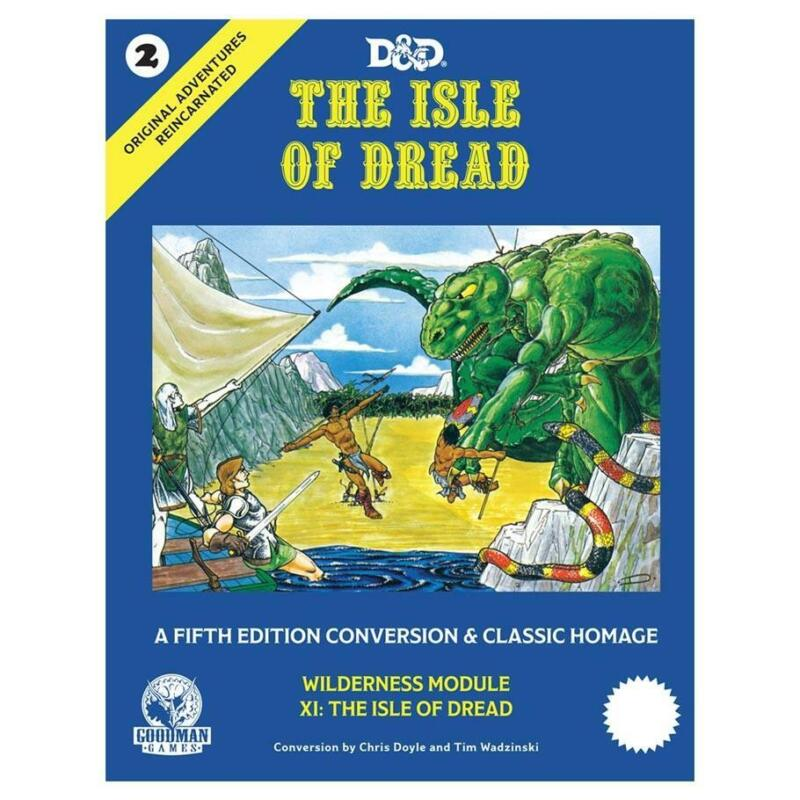 D&D Original Adventures Reincarnated #2: The Isle of Dread (Hardback)