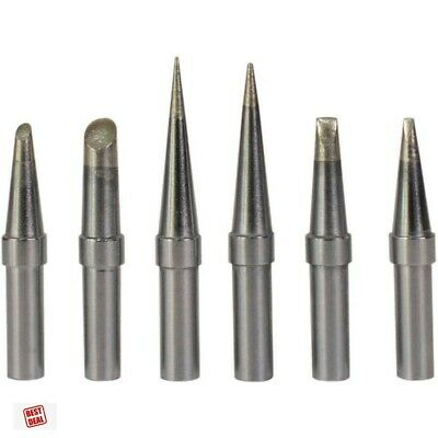Weller Et Soldering Iron Replacement Tips Set 6 Pcs We1010na Wesd51 Wes5051 New