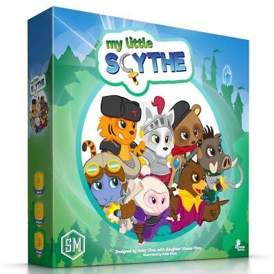 Little Kids Board Games (My Little Scythe Board Game Kids Family Fun Multiplayer Stonemaier Games)