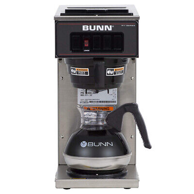Bunn 13300.0001 Vp17-1ss Pourover Coffee Brewer With 1 Warmer Free B21z Shipping