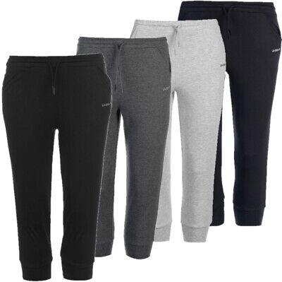 ✅ LA GEAR 3/4 Damen Jogging Hose Dreiviertel Sport Fitness Freizeit Shorts NEU - Yoga Shorts