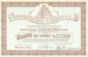 Inmobiliaria-Urbis-SA-accion-Madrid-1976