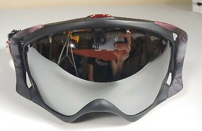 Oakley OO7005N-07 CROWBAR SETH VOD MORRISON SIGNATURE PRIZM Goggles AUTHENTIC (Oakley Signature Goggles)