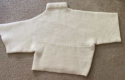 Women's White Cream Acne Studios Wool Sweater Size Medium