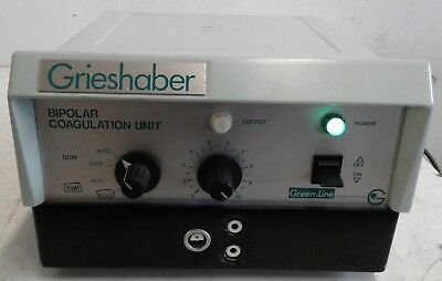 Grieshaber Bcu50 Bipolar Coagulation Unit