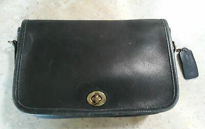 Vintage Coach Blue Leather Handbag  9755 No Strap