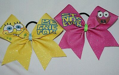 Cheer Bow -  Spongebob and Patrick Best Friends Set  - Hair