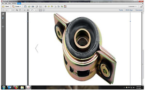 Drive Shaft Support Bearing/Steady Bearing
