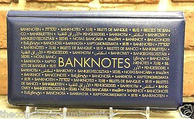 Lighthouse Banknotes Pocket Album Wallet Dollar Bill Currency Paper Money Holder