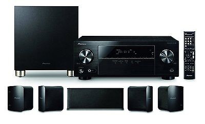 Pioneer HTP-074 - Heimkino - 5.1 Verstärker inklusive Lautsprecher und Subwoofer