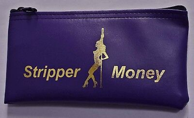 Personalized Pole Dancer Exotic Stripper Purse Go Go Dance Performer Money Bag - Gogo Dancer Outfits