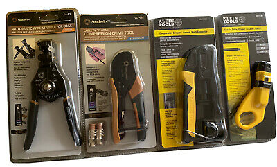 Lot Tools Klein Tools Southwire. Automatic Wire Compression Crimper And More