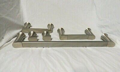 Moen Genta Bath Hardware Set With Towel Bar, Toilet Paper Holder, Shower Hook