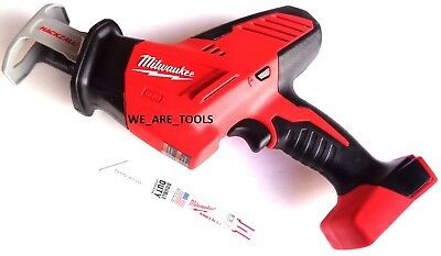 Milwaukee 2625-20 18V Hackzall Reciprocating Saw Sawzall M18 18 Volt W/ Blade