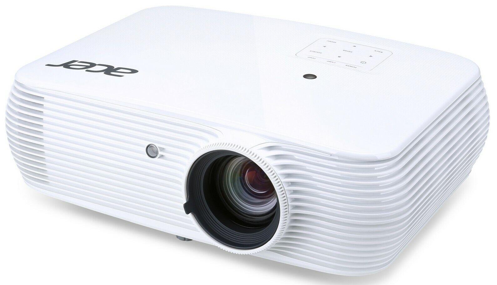 High End FULL HD Acer H6510BD+ 3.400 AnsiLumen Beamer 20.000:1 Kontrast, HDMI