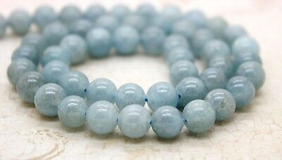 Smooth Ball (Aquamarine, Natural Aquamarine Smooth Round Ball Sphere Beads Stone)