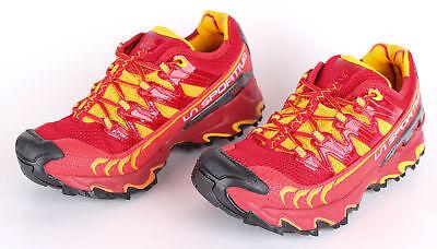 La Sportiva Damen Trailrunningschuhe Ultra Raptor W 37 Rot/Gelb Laufschuhe - Sportiva Rot Schuhe