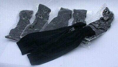 Twelve Wholesale Lot of BLACK Muslim Arm Oversleeves Ramadan Abaya Arm Covers