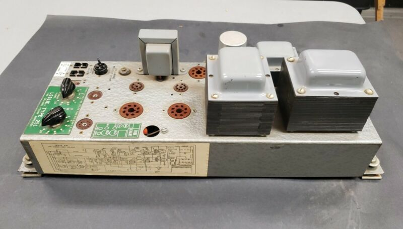 LESLIE Type 251 Tube Amplifier Hammered finish Excellent and Tested  #251