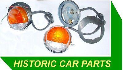 Front Sidelight Flasher Assy for MORRIS Minor 1000 4 door Saloon 1962 72 52572D