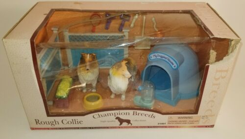 Keenway Champion Breeds Rough Collie 21401 Set New in Box