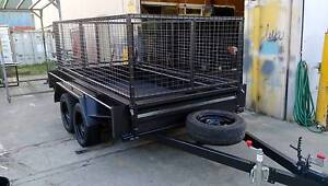 10x5 Tandem Trailer with Cage West Footscray Maribyrnong Area Preview