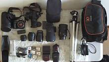 Sony Alpha A700 12.24MP Digital SLR Cameras with lenses/extras Padstow Heights Bankstown Area Preview