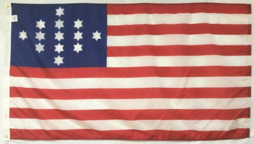 John Hulbert 1775 Historical Indoor Outdoor Dyed Nylon Flag Grommets 3