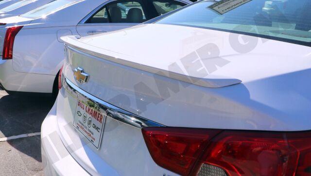 2018 chevrolet impala white. exellent white 20142018 chevrolet impala gm oem summit white flushmount rear spoiler new intended 2018 chevrolet impala white